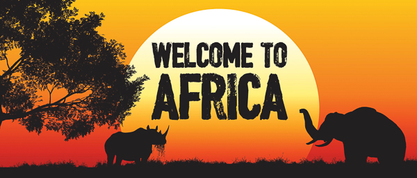 Welcome to Africa, welcome to Summer